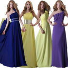 Stock Sleeveless Bridesmaid Evening Dress Prom Dresses Homecoming Prom Ballgown