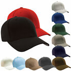 Plain Baseball Cap original FLEXFIT Caps Flex-Fit Basecap Hat NEW«