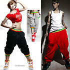 Hiphop Men Women Casual Harem pants Baggy Dance Sport Sweat Pant Trousers Slacks