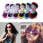 Wholesale Newly Funny Summer Love Heart Shape Lolita Sunglasses Sun Glasses Gift