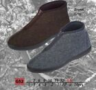 Coolers Brand MENS HERRINGBONE ZIP BOOT / SLIPPERS / INDOOR SHOES /