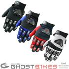 Black Dynamite Off Road MX Enduro Quad Dirt Bike Motocross Gloves GhostBikes