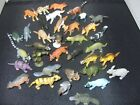 18 or 36 Mini wild zoo plastic play animals FULL Colour detail FREE Postage