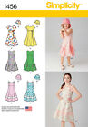 SEWING PATTERN! MAKE SUMMER CLOTHES! DRESS~SUNDRESS~HAT! CHILD 2~5 OR GIRL 7`14