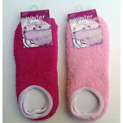 Socks Cozy Soft Thick Winter Ladies Women Socks Size 9-11 Pink NEW