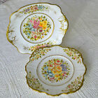 Antique Hand Painted Decorative China Wall Plates by English Artist Maude Beale