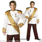 C587 Prince Charming Elite Mens Fairy Tale Halloween Fancy Dress Party Costume