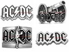 BBUM0055 AC DC ROCK N ROLL MUSIC HEAVY METAL ROCK BAND ALLOY BELT BUCKLE