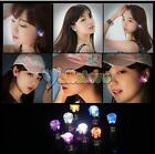 New One Pair LED Glowing Light Up Led Blinking Ear Stud Earrings Club Party