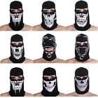 Ghost Skull Hood Full Face Mask Motorcycle Ski Balaclava CS Sports Helmet Snood