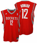 Adidas NBA Men's Houston Rockets Dwight Howard #12 Replica Jersey - Red