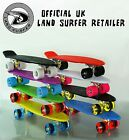 "LAND SURFER Cruiser Retro Skateboard 22"" Inch Complete Deck Board PLUS Carry Bag"