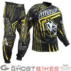 WULF WSX-4 2014 OFF ROAD MX ATV MOTOCROSS RIDER WEAR PANTS JERSEY KIT YELLOW