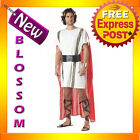 C819 Mark Anthony Costume Roman Military General Ancient Times Toga Party Outfit