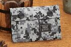 Casual Short Sports Canvas Clutch Checkbook Change Coin Card Bag Purse Wallet