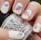1 Sheet Vintage Flower Floral Nail Art Manicure Water Decals Transfers Sticker