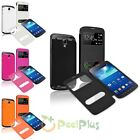 Slim Flip Leather Case Battery Cover For Samsung Galaxy S4 Active i9295