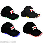 England Football Worldcup 2014 LED Supporters Cap Black World Cup St George Flag