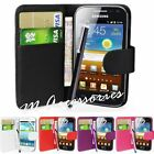 WALLET FLIP PU LEATHER CASE COVER POUCH FOR SAMSUNG GALAXY S4 MINI I9190 I9195