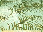 Discount Fabric Nylon Lycra Spandex 4 way stretch Tropical Leaves 203LY