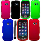 For LG Extravert 2 VN280 Rubberized Hard Shell Case Phone Cover Accessory + Pen