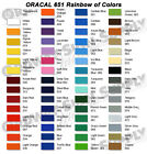"You Pick the Color 15"" x 10 yd. ORACAL 651 Intermediate Adhesive Vinyl Film"