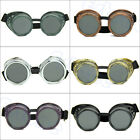 Vintage Victorian Steampunk Goggles Glasses Welding Punk Gothic Cosplay