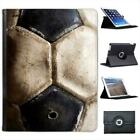 Used Vintage Black & White Football Folio Wallet Leather Case For iPad 2, 3 & 4