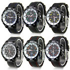 Women Mens  Unisex Casual Silicone Rubber GT Sport Analog Quartz Wrist Watch NEW