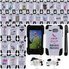 For Kyocera Event C5133 Art Design KICKSTAND HYBRID HARD Case Phone Cover + Pen