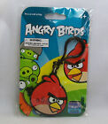 Angry Birds Rubber Green Pig Or Red Bird Charm Bag Key Clip Keychain *New