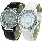 NEW GENEVA CRYSTAL DIAL LADY GIRL WOMEN WRIST WATCH BRACELET QUARTZ HOUR C
