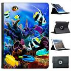 Tropical Sea Scene With Corals and Fish Folio Leather Case For iPad Air & Air 2