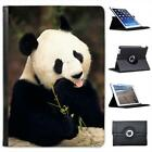 Panda Bear Folio Wallet Leather Case For iPad Air & Air 2