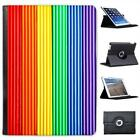 Gay Pride Rainbow colour Plasticine Folio Leather Case For iPad Air & Air 2