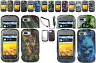 Car Charger+1 Design Skin Hard Cover Case for ZTE Fury N850/Director N850L Phone