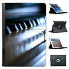 Close Up Of Beautiful Old Piano Ready to Play Folio Leather Case For iPad Mini