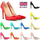 2015 WOMENS HIGH HEELS POINTED TOE CORSET PUMPS COURT SHOES SIZE 2 3 4 5 6 7 8 9