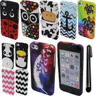 For Apple iPhone 5C Light Lite TPU SILICONE Case Phone Cover Accessory + Pen