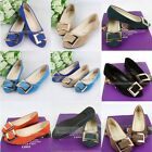 Fashion Women casual Flat Comfort Round Head Shallow Mouth Candy Color Shoes