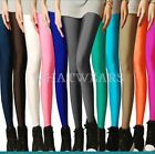 Fashion Womens Candy Color Slim Stretch Skinny Leggings Tights 17 Colors M~L HUK