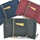 Canvas Wallet with Chain in 3 Colours (8006)