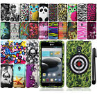 For LG Optimus F6 D500 MS500 Rubberized PATTERN HARD Case Phone Cover + Pen