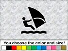 Wind Surfing Board Windsurfing Sticker Vinyl Decal Car Wall Door Window Water