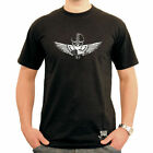 Black Rebel Cafe Racer Ton up T-shirt. Norton Triumph BSA Vincent AJS Ariel