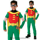 CK191 Teen Titan Robin Kids Batman Superhero Hero Child Boys Book Week Costume