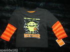 HALLOWEEN 2-FER TEES CREATURE FROM NEXT DOOR T-SHIRTS NWT 24mth, 3T & 4T