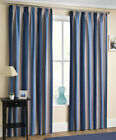 navy and cream curtains