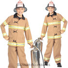 CK233 Fire Fighter Fireman Child Kids  Boy Book Week Fancy Dress Party Costume
