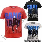 "NEW BOYS ""GANGNAM STYLE"" FUNNY SHORT SLEEVE T SHIRT NICE STYLE SIZE 4-14 YEARS"